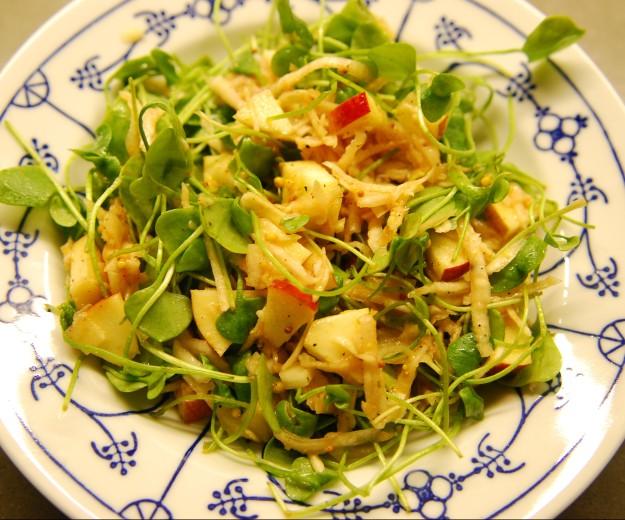 Topinambur Salat Roh